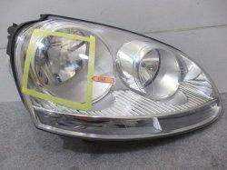 ゴルフ5/GOLF� 1K系 VW 右ヘッドライト/ランプ ハロゲン 1K6 941 006 Q 1K6941006Q (82095)