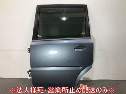 ムーヴ L150S/L152S/L160S 純正 左リアドア ガラス内張りバイザー付 スチールグレーメタリック カラーNo.S30 ダイハツ(110411)