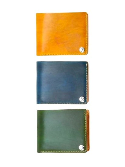 MOTO LEATHER WALLET W1D (YELLOW)