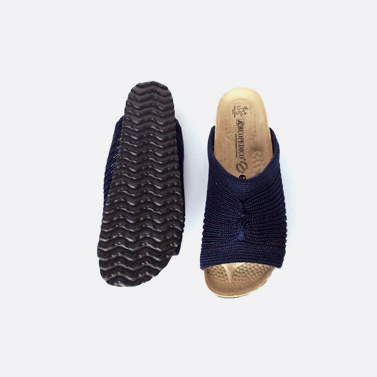 ARCOPEDICO SANDAL OPEN (NAVY)4
