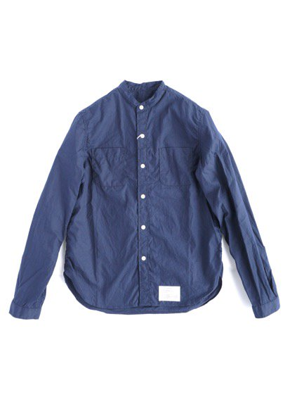 commono reproducts  Stand Shirts (Navy )