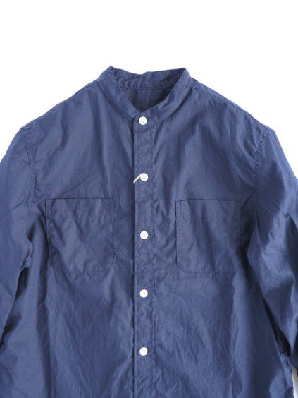 commono reproducts  Stand Shirts (Navy )2