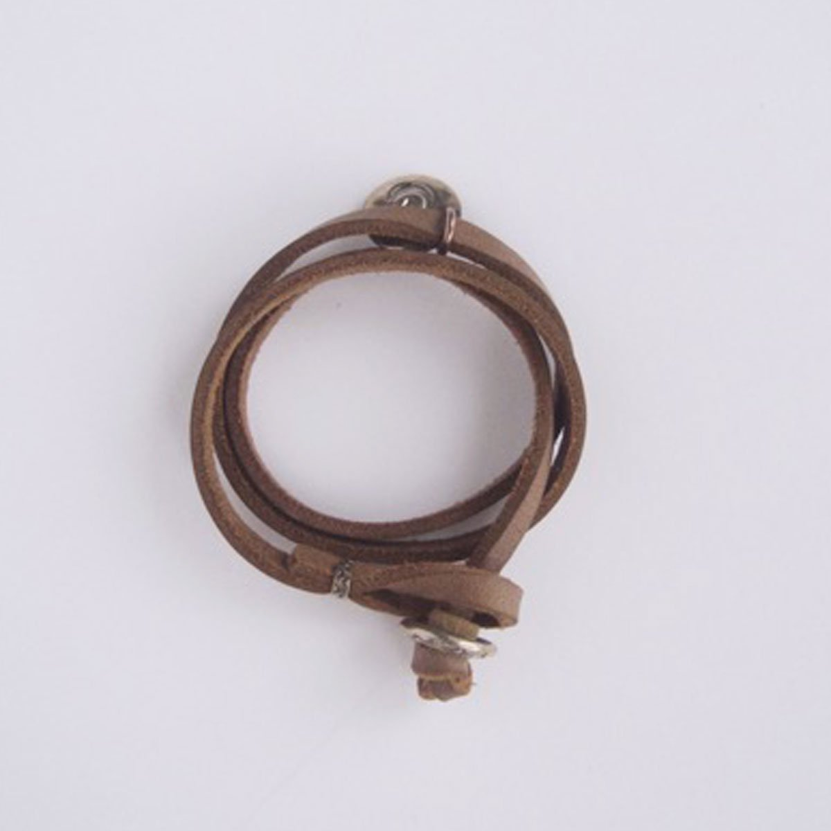 MOTO CONTEMPORARY NATIVE 3連LEATHER BRACELET (NATURAL)2