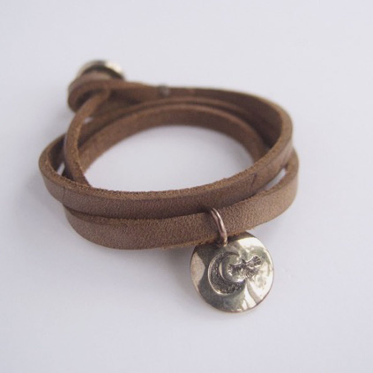 MOTO CONTEMPORARY NATIVE 3連LEATHER BRACELET (NATURAL)4