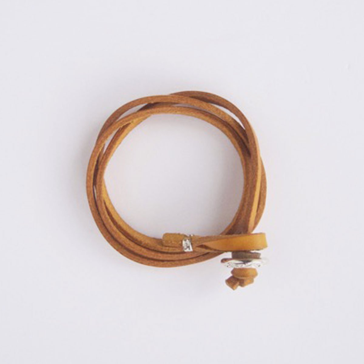 MOTO CONTEMPORARY NATIVE 3連LEATHER BRACELET (YELLOW)2