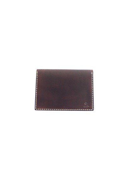 MOTO LEATHER&SILVER MOTO LEATHER CARDCASE CA1D(D.BROWN)
