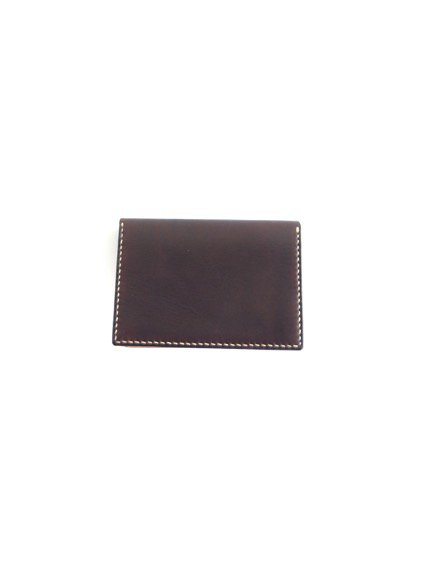 MOTO LEATHER&SILVER MOTO LEATHER CARDCASE CA1D(D.BROWN)4