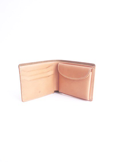 MOTO LEATHER WALLET W1E (NATURAL)3