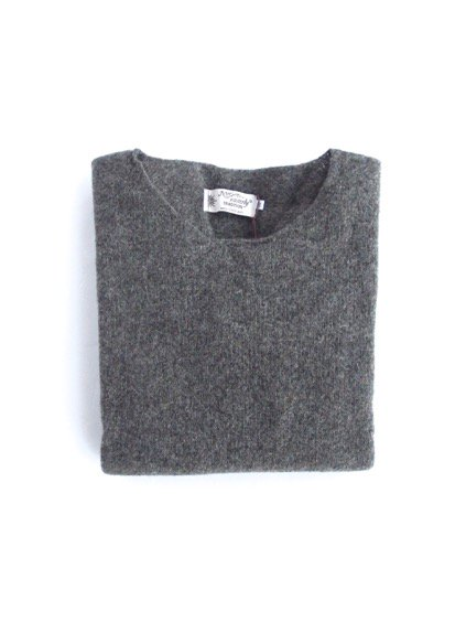 Nor' easterly L/S WIDE NECK KNIT (GRANITE)