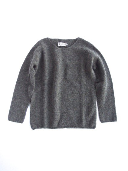 Nor' easterly L/S WIDE NECK KNIT (GRANITE)3