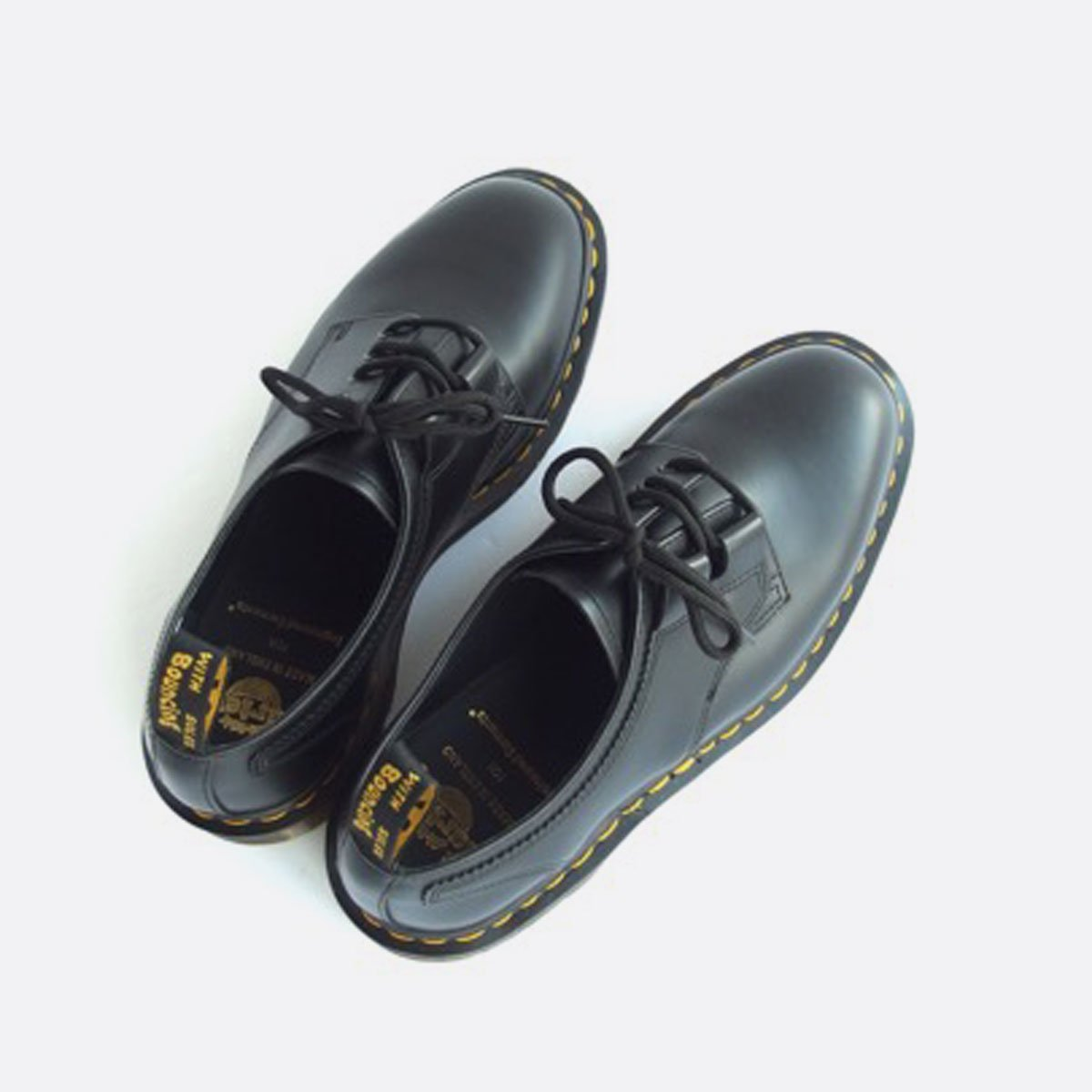 Engineered Garments × Dr.Martens Ghillie Lace -Classic Smooth Leather -  (BLACK)4