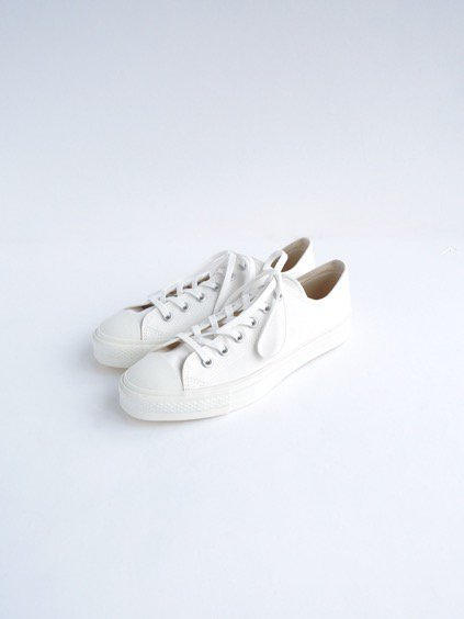 DOEK CANVAS SNEAKER 'BASKET' (WHITE GABA)