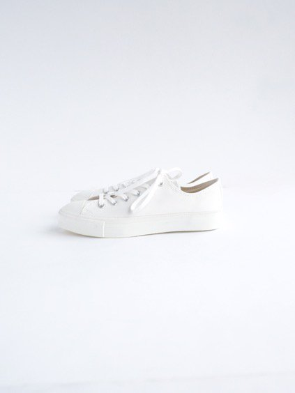 DOEK CANVAS SNEAKER 'BASKET' (WHITE GABA)2