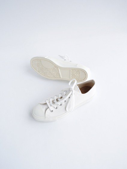 DOEK CANVAS SNEAKER 'BASKET' (WHITE GABA)3