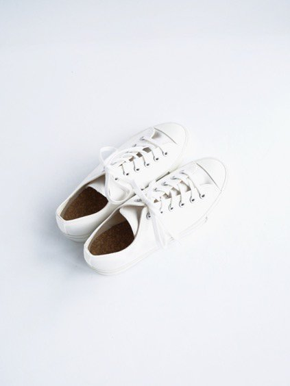 DOEK CANVAS SNEAKER 'BASKET' (WHITE GABA)4