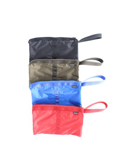 hobo Polyester Taffeta Clutch Bag   (BLUE) (BLACK)