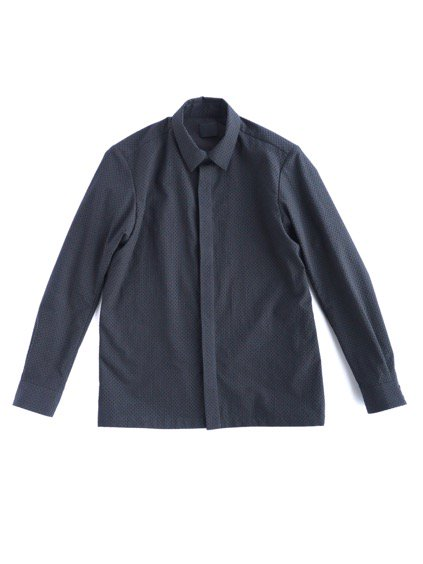 山内 COTTON SHIRTS  (black)
