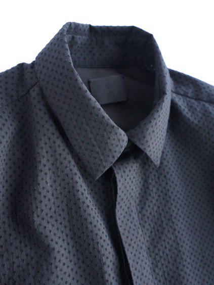 山内 COTTON SHIRTS  (black)2