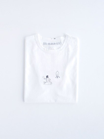 EEL kubel PRINT T-SHIRTS (WHITE)