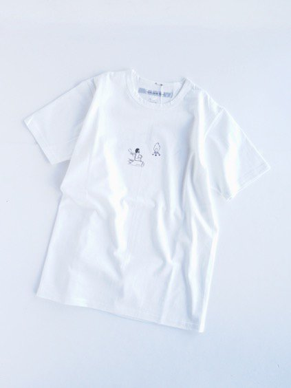 EEL kubel PRINT T-SHIRTS (WHITE)3