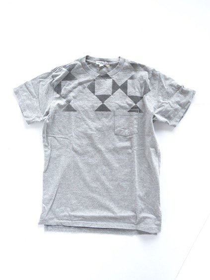 Engineered Garments Printed T-shirt -DIAMOND-  (GREY)2