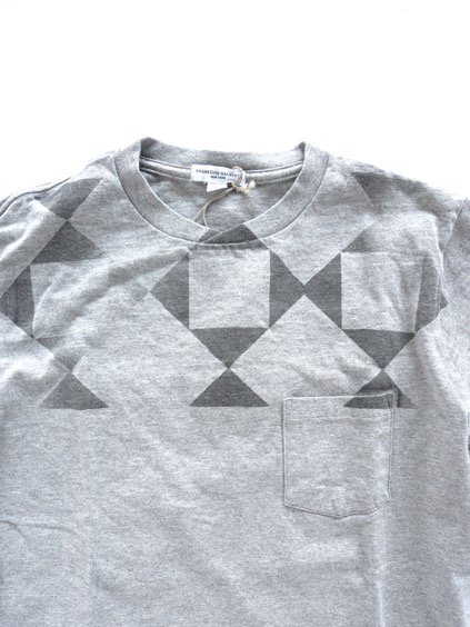 Engineered Garments Printed T-shirt -DIAMOND-  (GREY)3
