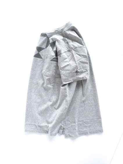 Engineered Garments Printed T-shirt -DIAMOND-  (GREY)4