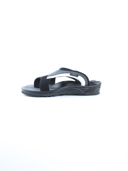 TRIOP SLIPPER UNI (BLACK/ANTHR/WHITE)2