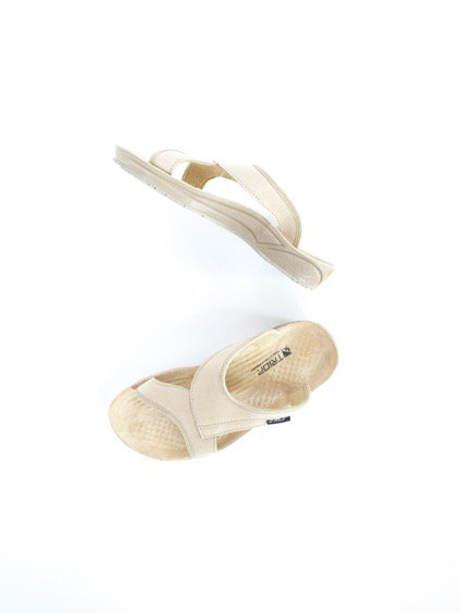 TRIOP SLIPPER KERI (BEIGE-SMOOTH)4