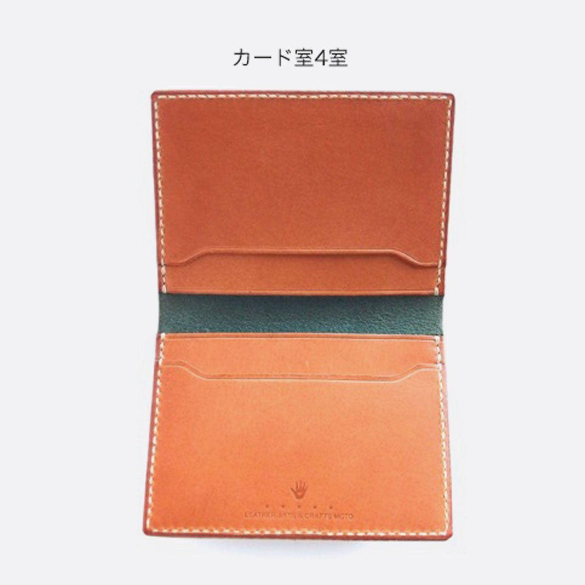 MOTO LEATHER&SILVER MOTO LEATHER CARDCASE CA1(定番5色)4