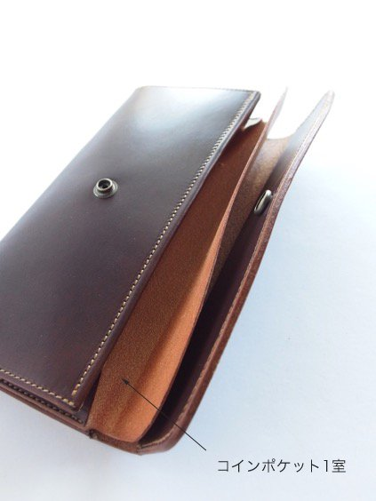 MOTO LEATHER WALLET LW2D (D.BROWN)(D.BLACK)3