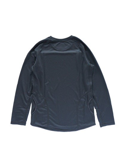 and wander dry jersey raglan long sleeve T (Black)4