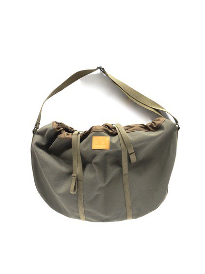 hobo Round Shoulder Bag (OLIVE)