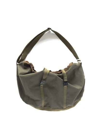 hobo Round Shoulder Bag (OLIVE)2