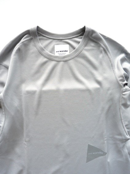 and wander dry jersey raglan long sleeve T (L.gray)2