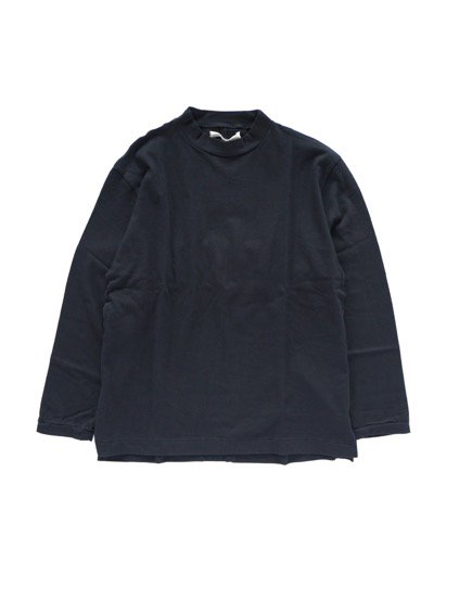 Honor gathering washable cotton wool vintage knit (black)1