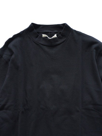 Honor gathering washable cotton wool vintage knit (black)2