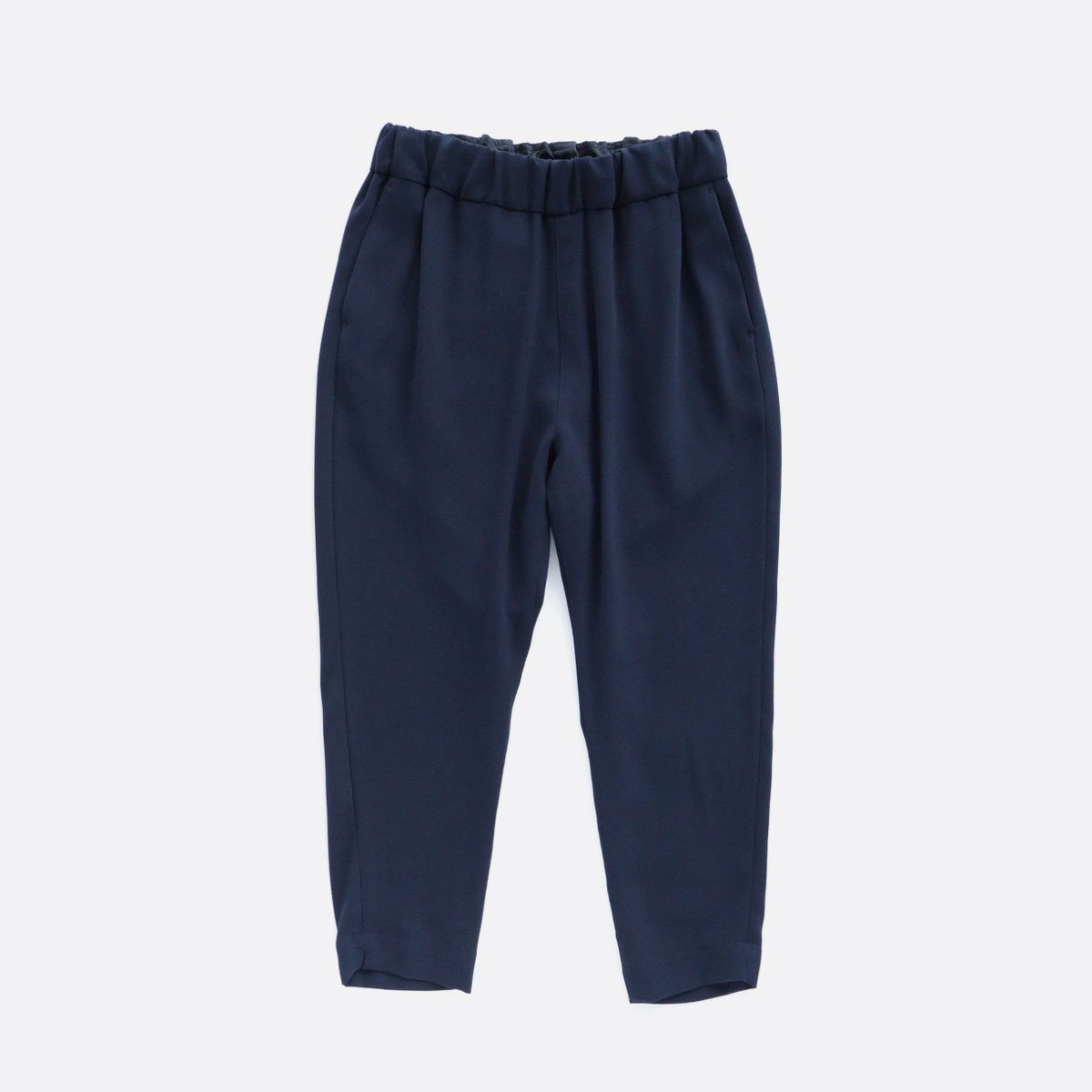 NO CONTROL AIR ACETATE & POLYESTER DOUBLE CLOTH TAPERED EASY PANTS (navy)