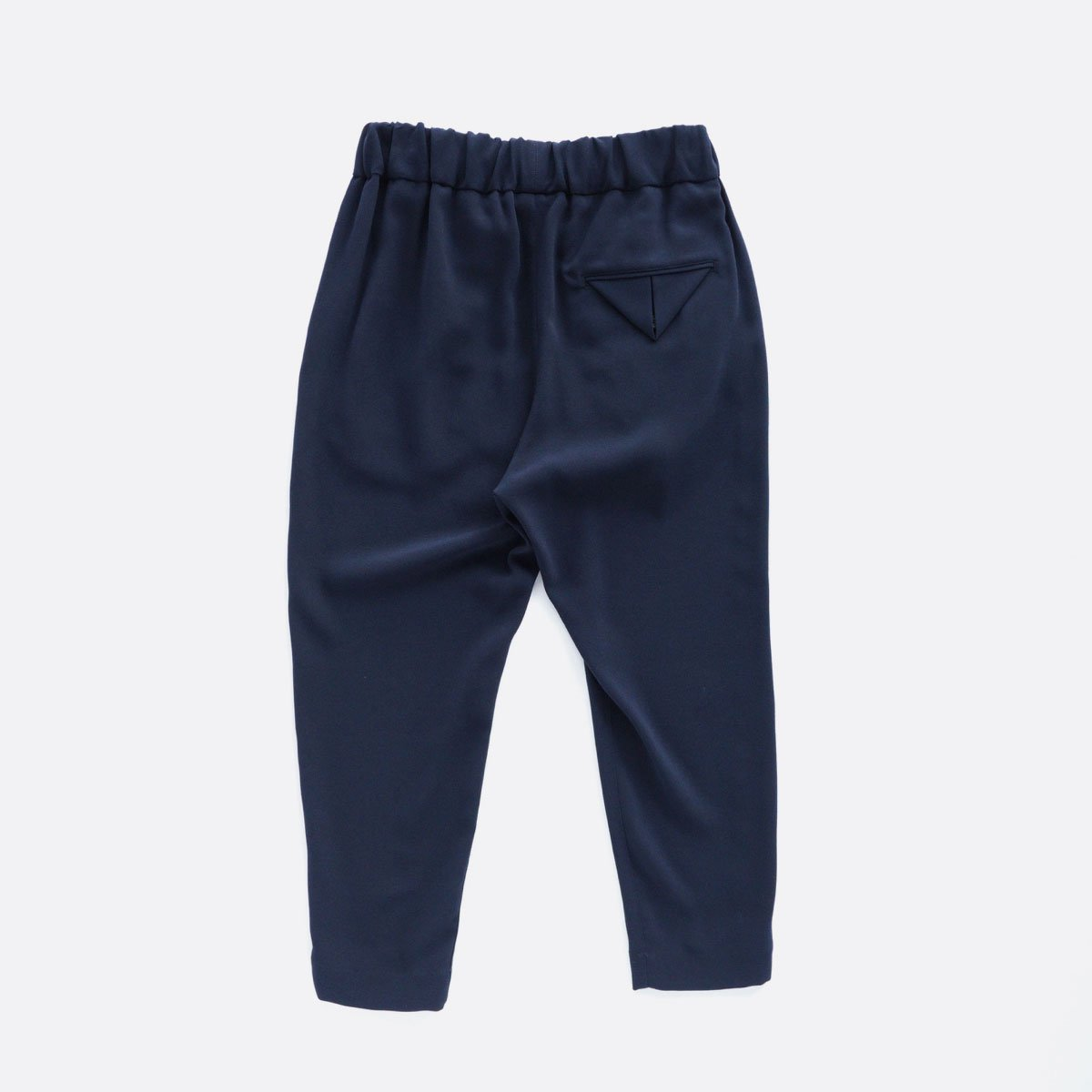 NO CONTROL AIR ACETATE & POLYESTER DOUBLE CLOTH TAPERED EASY PANTS (navy)2