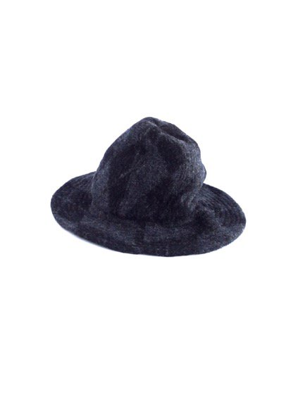 Engineered Garments Mountain Hat-Argyle Wool Dobby-  (CHARCOAL)2