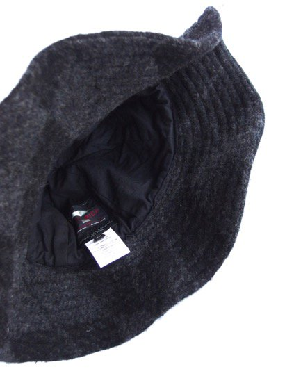 Engineered Garments Mountain Hat-Argyle Wool Dobby-  (CHARCOAL)3