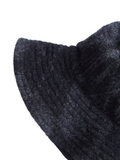 Engineered Garments Mountain Hat-Argyle Wool Dobby-  (CHARCOAL)4
