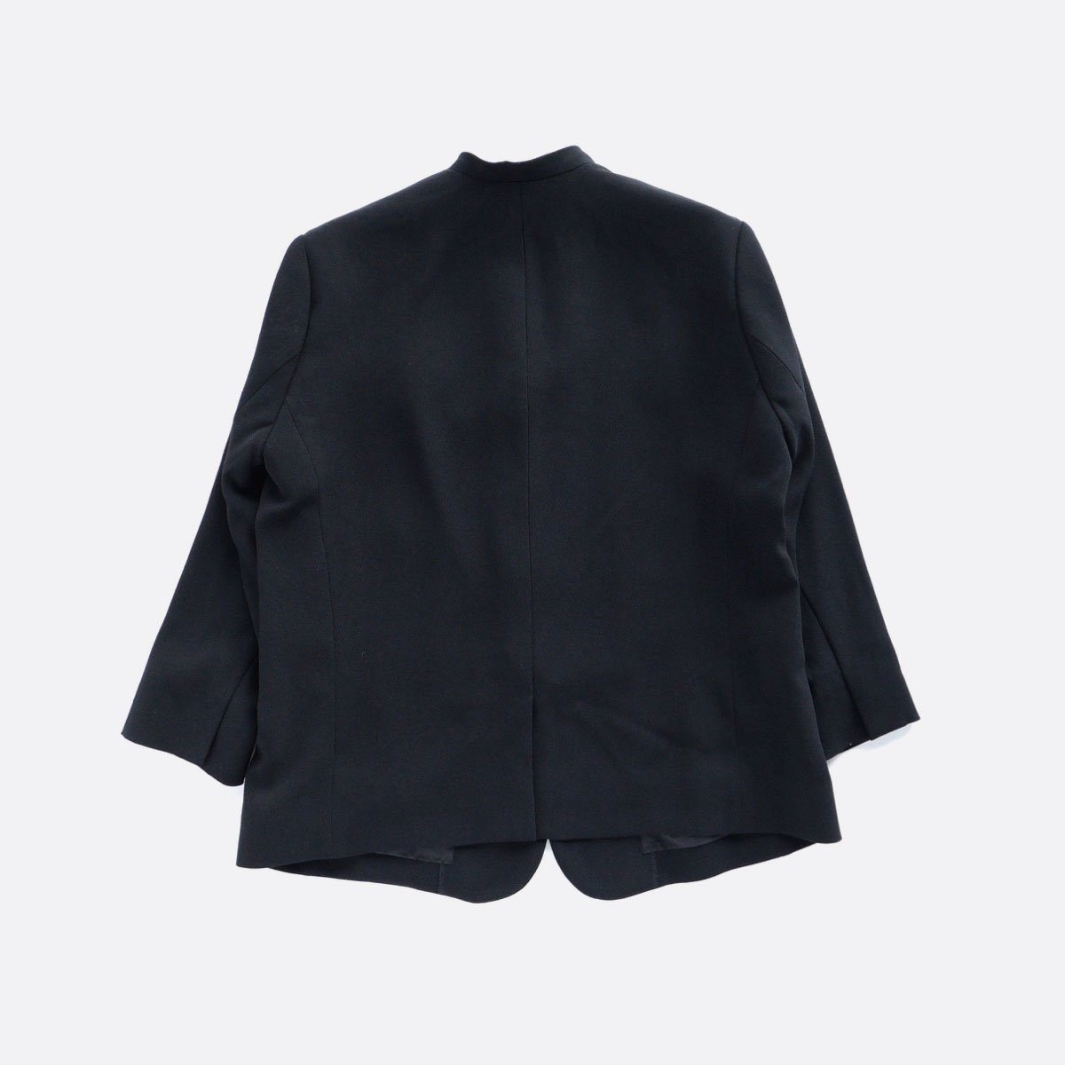 NO CONTROL AIR ACETATE & POLYESTER DOUBLE CROTH NO COLOR JACKET (BLACK)2