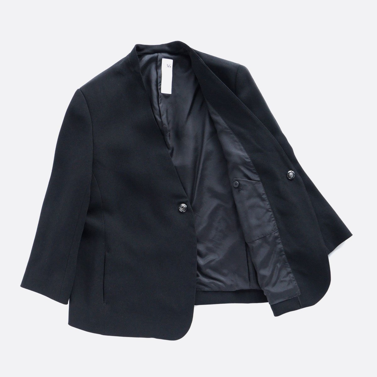 NO CONTROL AIR ACETATE & POLYESTER DOUBLE CROTH NO COLOR JACKET (BLACK)4