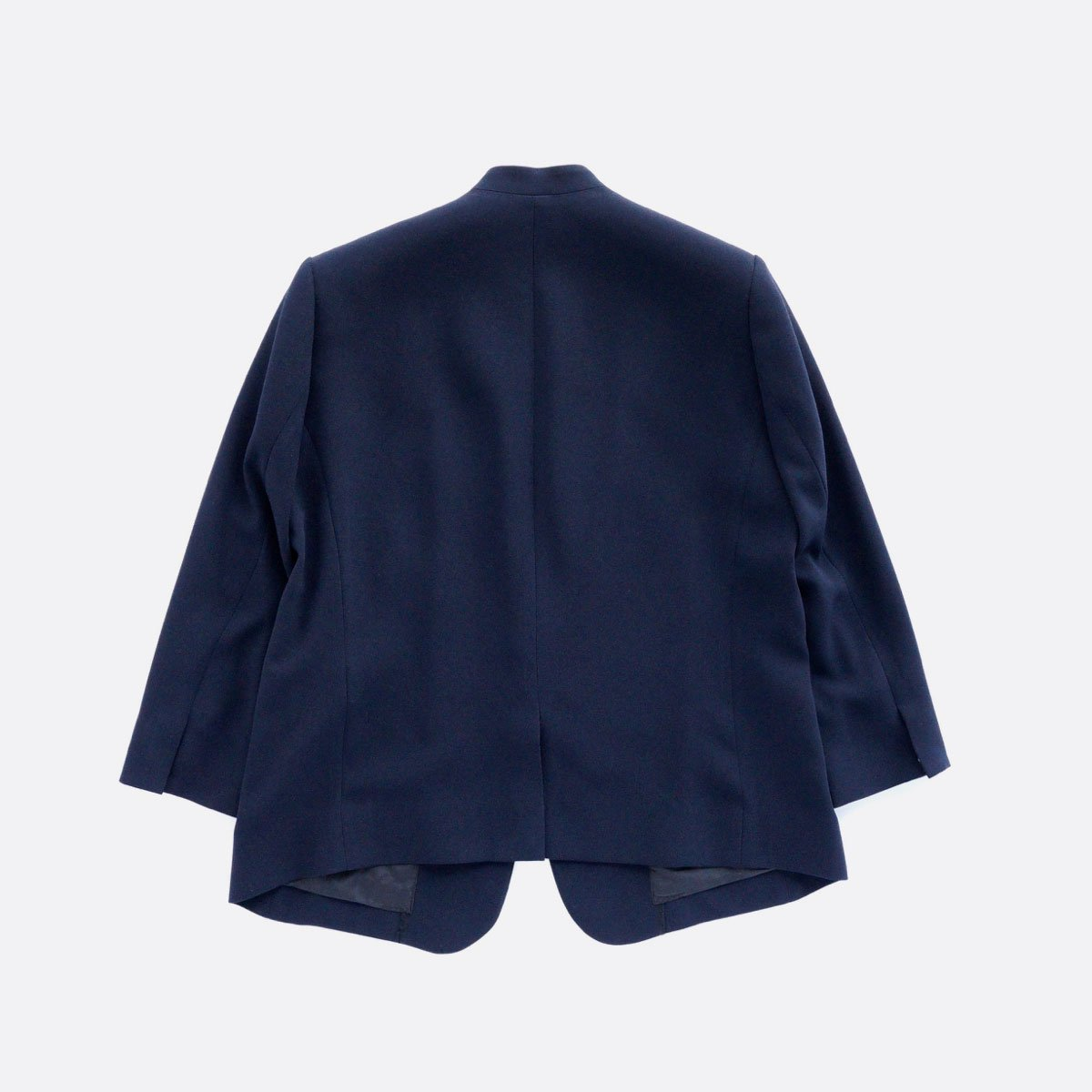 NO CONTROL AIR ACETATE & POLYESTER DOUBLE CROTH NO COLOR JACKET (NAVY)2