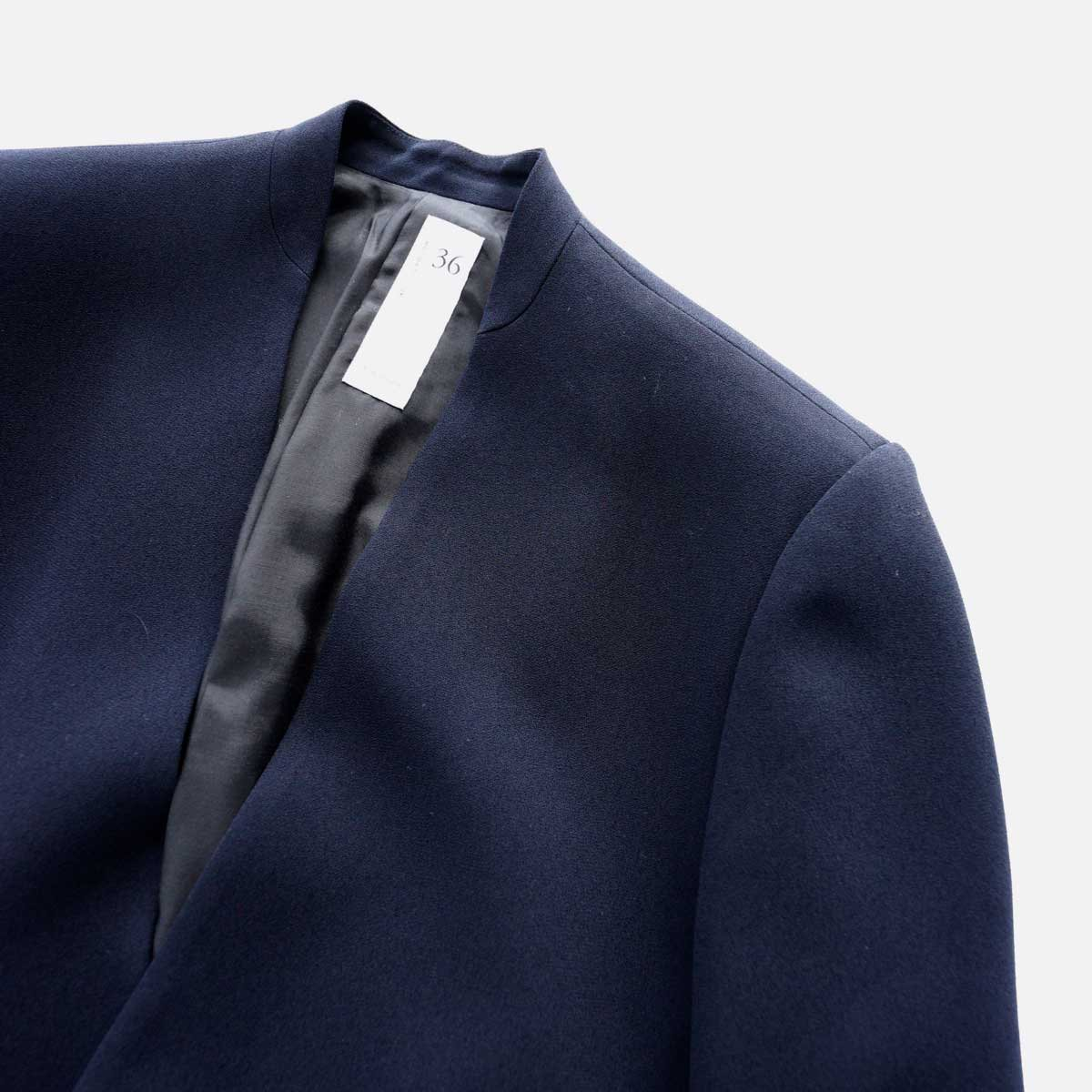 NO CONTROL AIR ACETATE & POLYESTER DOUBLE CROTH NO COLOR JACKET (NAVY)3