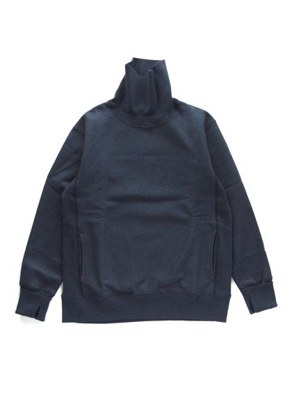 A VONTADE Turtle Neck Sweat (NAVY MIX)