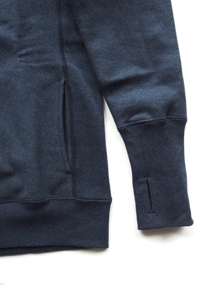 A VONTADE Turtle Neck Sweat (NAVY MIX)2