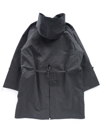 A VONTADE HOODED OVERCOAT (BLACK)4