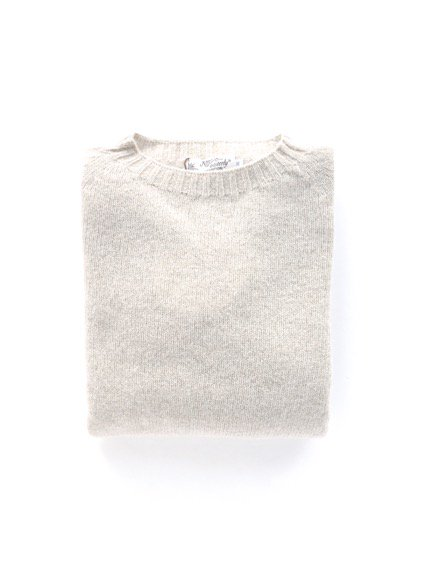 Nor' easterly L/S CREW NECK KNIT (OATMILK)